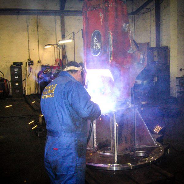 weld-up-crane-base