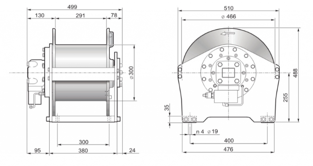 s35 dinamic winch drawing