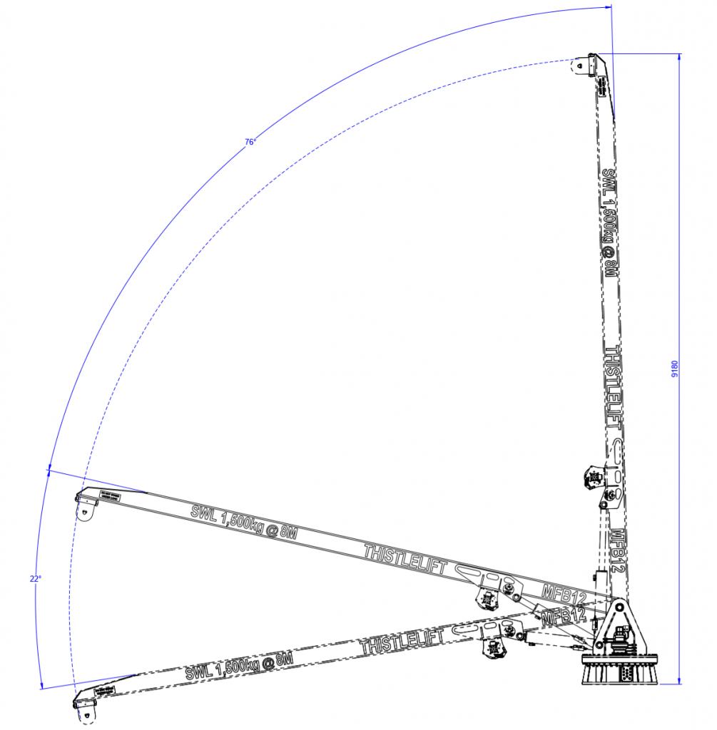 mfb12 thistle landing crane