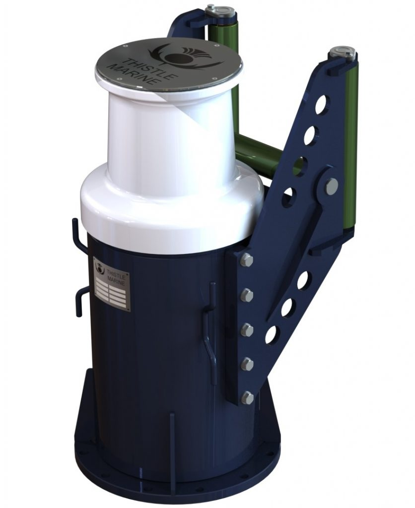 capstan with roller assembly