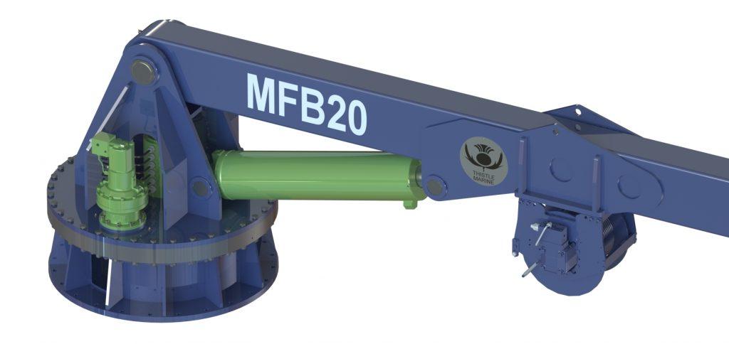 mfb20 landing crane